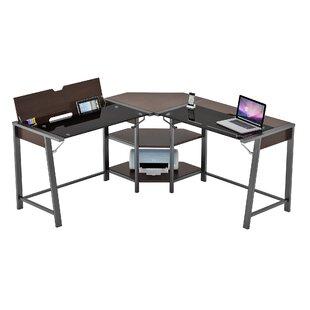Latitude Run Holloman L-Shape Corner Computer Desk