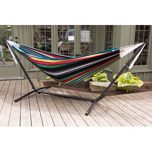 Beachcrest Home Dorinda Double Hammock with Stand