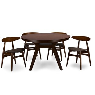 Baxton Studio Flamingo 5 Piece Dining Set..