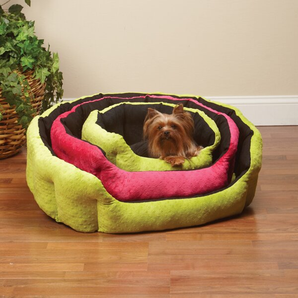 Slumber Pet Dimple Plush Nesting Nest Dog Bed Amp Reviews