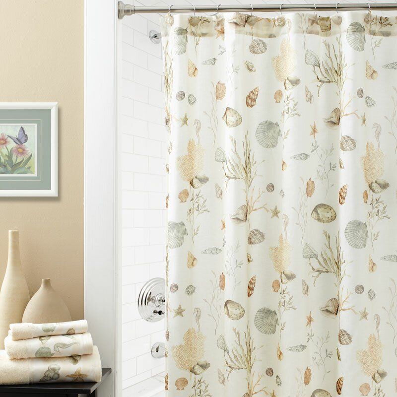 Ocean Grove Seashore Shower Curtain
