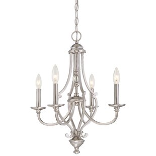 Savannah Row 4 Light Candle Chandelier