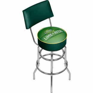 Bud Light Lime-A-Rita 31 Swivel Bar Stool Trademark Global