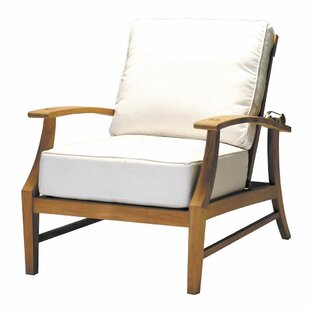 Croquet Teak Patio Chair with Cushions