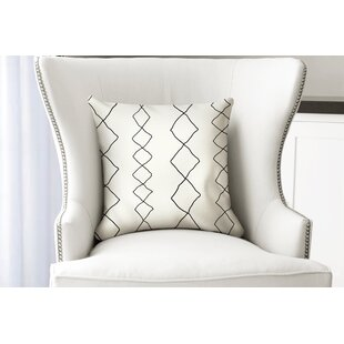 Casbah Diamonds Cotton Throw Pillow