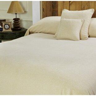 Maspar Melange Chenille Bed Coverlet