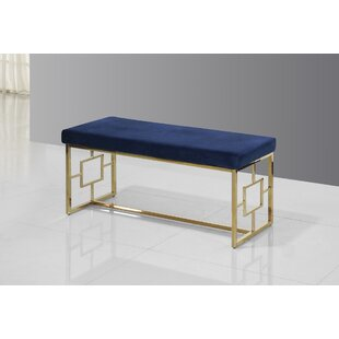 Mercer41 Cecily Metal Bench
