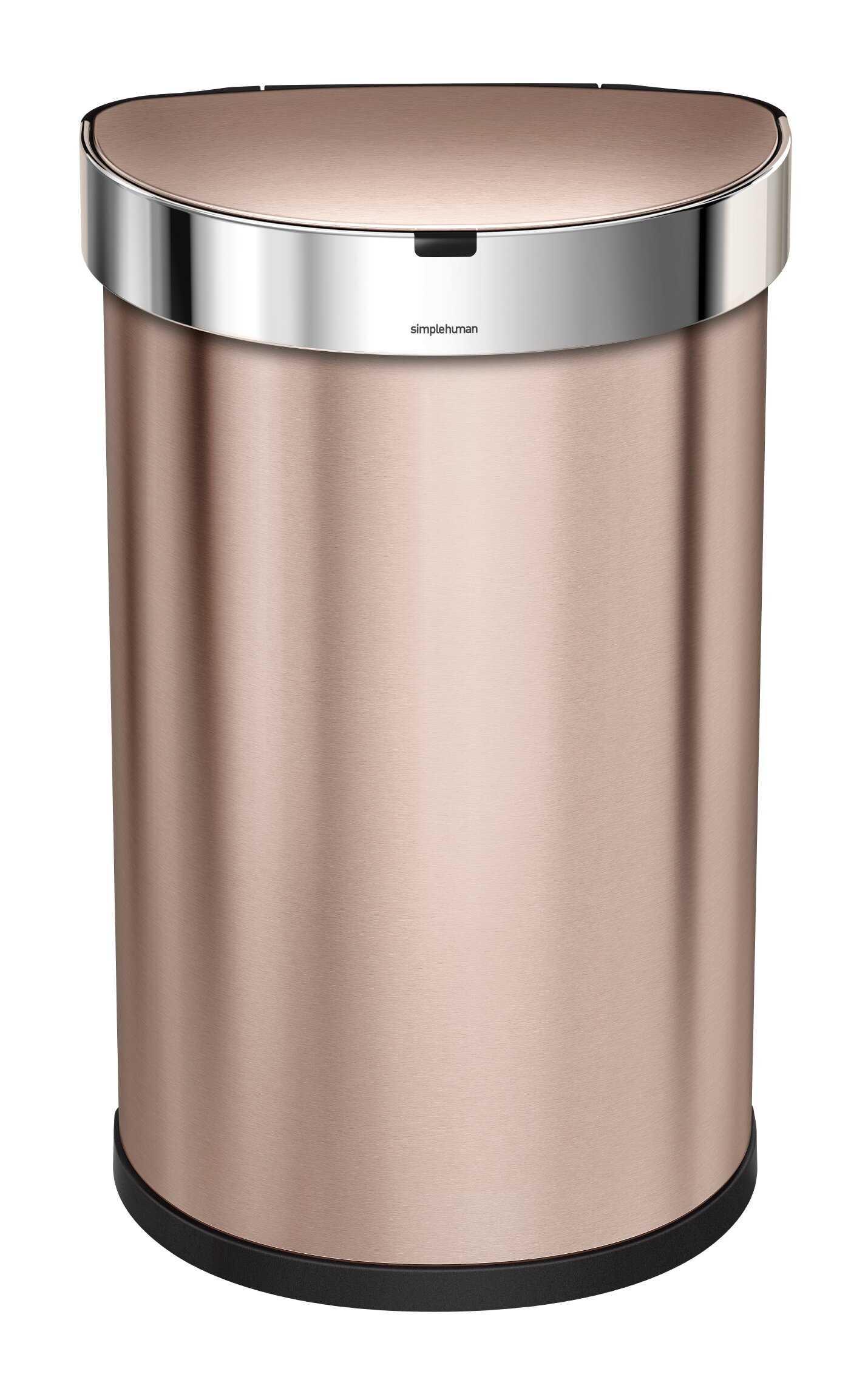 53ae356f976 12 Gallon Semi-Round Sensor Trash Can with Liner Pocket   Reviews ...