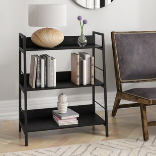 Cleitus Wooden Rack Storage Wall Shelf Bookcase By Rebrilliant