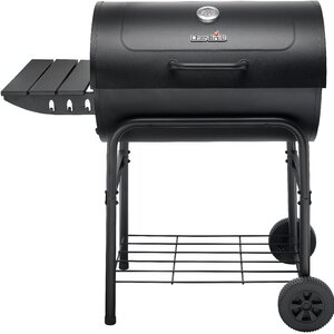American Gourmet 840 Series Charcoal Grill with Smoker