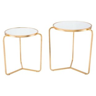 Cosper 2 Piece Nesting Tables by Mercer41