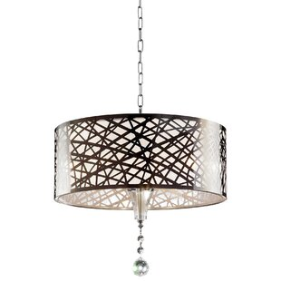 Shabby chic pendant lights wayfair chic array 5 light pendant by ok lighting aloadofball Choice Image