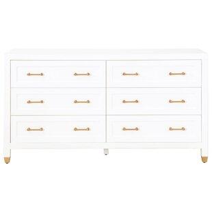 Everly Quinn Skelmersdale 6 Drawer Double Dresser