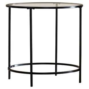 f90731369ac27 Modern Glass End + Side Tables