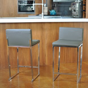 Rogue 24 Bar Stool (Set Of 2) by Orren Ellis Coupon