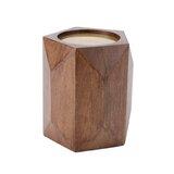 Pillar Wood Candlestick