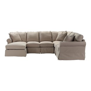 Great choice Thames Slip Sectional by Darby Home Co Reviews (2019) & Buyer's Guide