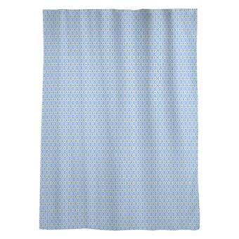 Latitude Run Avicia Diamonds Geometric Sheer Rod Pocket Single Curtain Panel Wayfair