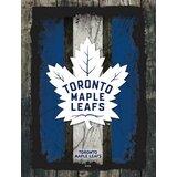 Wall Art Signage Toronto Maple Leafs You Ll Love In 2020 Wayfair
