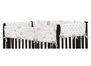 Clearance Celestial Crib Rail Guard Cover By Sweet Jojo Designs
