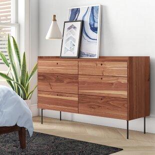Peek 6 Drawer Double Dresser by Blu Dot