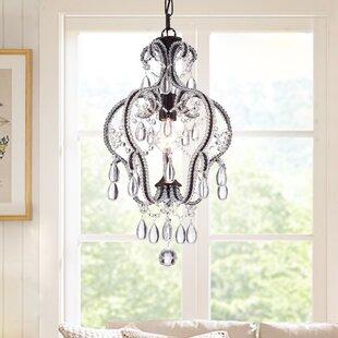House of Hampton Mcginty 1-Light Crystal Pendant