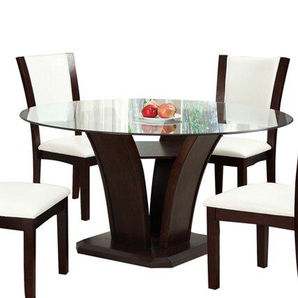 Latitude Run Yeager 54 Pedestal Dining Table Reviews Wayfair