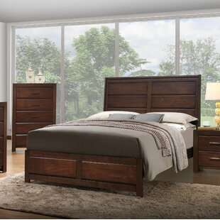 Mickel Wood Panel Bed