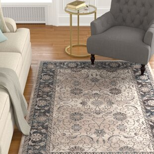 Coffield Beige/Gray Area Rug byCharlton Home