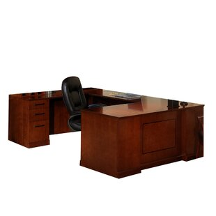 Sorrento Series U-Shape Desk Office Suite