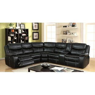 Lafever Reclining Sectional Red Barrel Studio