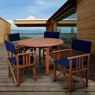 Foss Patio 5 Piece Dining Set