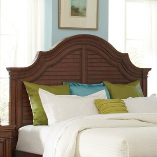 Where buy  Leander Panel Headboard by World Menagerie