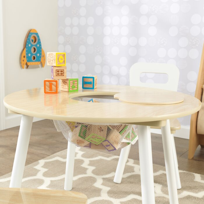 Fine Kids 3 Piece Round Table And Chair Set Pabps2019 Chair Design Images Pabps2019Com