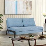 Arlaith Twin or Smaller 60 Pillow Back Convertible Sofa by Latitude Run