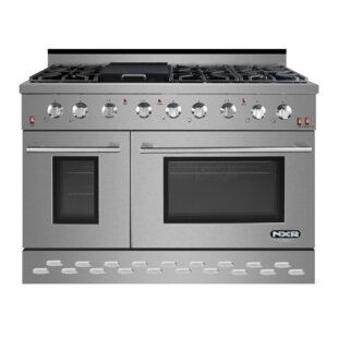48 inch  7.2 cu ft. Free-standing Gas Range with Griddle