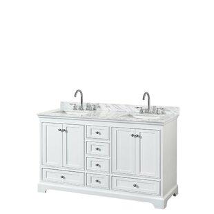 Deborah 60 Double Bathroom Vanity Set By Wyndham Collection