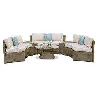 Bevis 6 Seater Rattan Sofa Set Image
