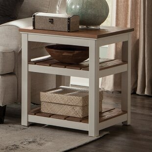 Gilmore 2 Shelf End Table by Rosecliff Heights