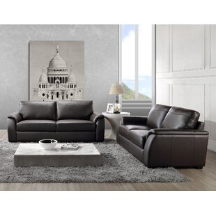 Wondrous Voyles 2 Piece Leather Living Room Set Onthecornerstone Fun Painted Chair Ideas Images Onthecornerstoneorg
