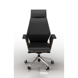 Latitude Run Kovacs Height Adjustable Executive Chair
