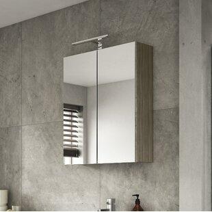 Gintautas 60cm X 71.5cm Surface Mount Mirror Cabinet By Belfry Bathroom