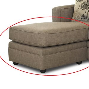 Flume Ottoman by Klaussner..