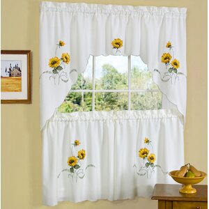 Sunshine Valance and Tier Set