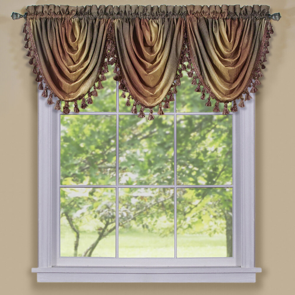 Contemporary Valances Kitchen Curtains You Ll Love In 2020 Wayfair