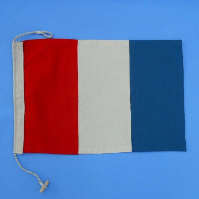 Handcrafted Nautical Decor Letter T Cloth Nautical Alphabet Flag ...