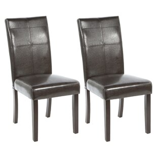Waltonville Parsons Chair (Set of 2) Red Barrel Studio