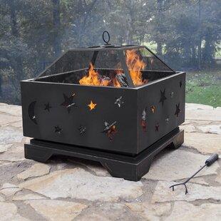 Stargazer Steel Wood Burning Fire Pit