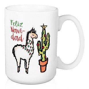 Wilfong Feliz Navidad Llama Coffee Mug