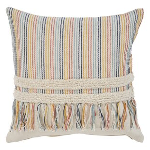 Sondra Boho Cotton Throw Pillow